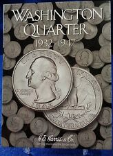 H.E. Harris Washington Quarter 1932-1947 Coin Folder #1, Album Book #2688