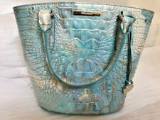 NWT Brahmin Small Bowie Serendipity Melbourne Leather Satchel $295