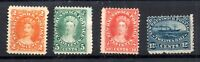 Canada New Brunswick 1860 mint no gum collection to 12 1/2c WS19095
