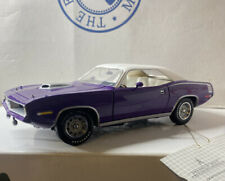 Franklin Mint 1970 Plymouth CUDA Hardtop 1/24 Scale Very Very Nice