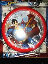 Superman - Orologio da Muro/Parete 24cm - DC Comics - Nuovo