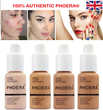 PHOERA® Foundation Concealer Full Coverage Makeup Matte Brighten long lasting UK