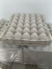 6 Chicken Egg Cartons Paper Trays Flats Hatching Craft Poultry 30 Eggs Reptile