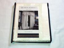 Queen Street Pole Top Sheer Curtain Panel - Farmington Ivory