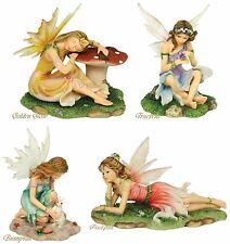 "Faerie Glen ""Woodland"" Series Limited Edition Fairy Figurine Set of 4 Retired"