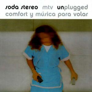 2 LP VINYL SET SODA STEREO MTV UNPLUGGED COMFORT Y MUSICA PARA VOLAR NEW BLACK