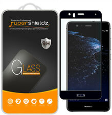 Supershieldz Huawei P10 Lite Full Cover Tempered Glass Screen Protector (Black)