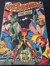 Federal Comics( DC Reprint) Red Tornado  Quest For Genesis 1983