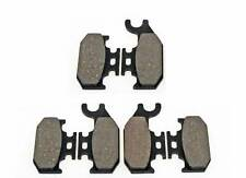 2007 2008 CAN-AM OUTLANDER 800 XT 4X4 FRONT & REAR BRAKES BRAKE PADS