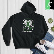 I wear emerald green for Liver Cancer Awareness Hoodie