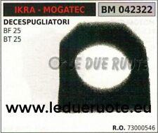 73000546 SPUGNA FILTRO ARIA DECESPUGLIATORE IKRA MOGATEC BF BT 25