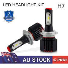 H7 Headlight Globe LED Bulb Kit 6000LM 50W for Citroen C3 2002-2010 C4 2004-2010