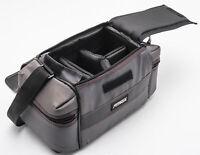 Fotima 28133 Kameratasche Schultertasche camera bag in anthrazit universal