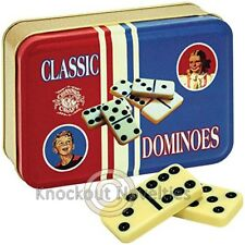 Toy Tin Dominoes Game Board Play