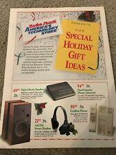 1990s RADIO SHACK Catalog TANDY 1000 RLX-HD COMPUTER 1100 FD NOTEBOOK DESKMATE