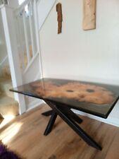 Epoxy resin coffee table