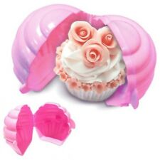 Eddingtons 850071 Cupcake Cup Cake Keeper Holder Storage - Pink