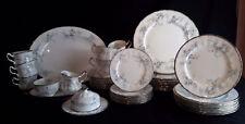 Paragon Bride's Choice Dinner Plate Platter Creamer - Large Set - 46 Piece Set
