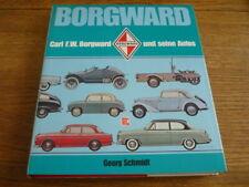 BORGWARD CARL F W BORGWARD UND SEINE AUTOS CAR BOOK