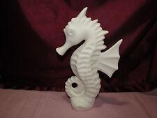 .Ceramic Bisque Seahorse U Paint Ready to Paint Ocean Sealife Fish