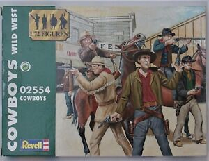 Revell Wild West  Cowboys   #02554  Scale 1:72  2008  New in Box