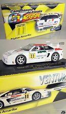 AT130 | Fly PA2 1:32 - Slotcar Venturi 600 LM GT 2001 #11 *NEU*