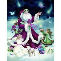 DIY 5D Full Drill Diamond Painting Santa Claus Embroidery Kits Christmas Gifts