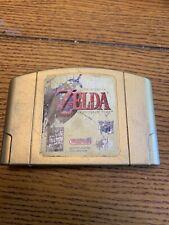 The Legend of Zelda Ocarina of Time For Nintendo 64 N64 AUTHENTIC OEM Gold Cart
