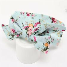 Headband Kids Girl Toddler Baby Bow Flower Hair Band Accessories Headwear Floral