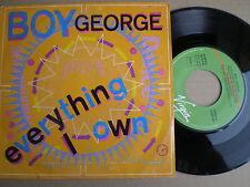 BOY GEORGE Everything I Own SPAIN 45 1987