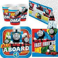 Thomas The Tank Engine And Friends Children's Boys Birthday Party Tableware Kids