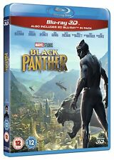 Black Panther (2018) 3D + 2D Blu-Ray BRAND NEW Free Shipping
