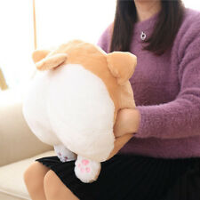 Novelty Corgi Bottom Warm Cute Pillow Dog Buttocks Hand Cushion Plush Pillow 30cm
