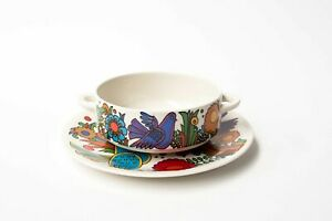 Villeroy & Boch Acapulco, Cream Soup Bowl and Plate