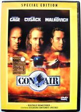 Dvd Con Air - Special edition Ologramma tondo con Nicolas Cage 1997 Usato