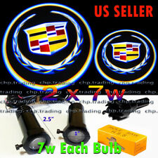 Cadillac  2x7w Ghost Shadow Projector Logo Cree LED Light Courtesy Door Step