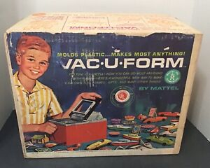 Mattel Vintage Vac-U-Form with Box, Upgrades and Molds