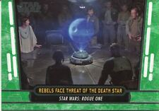 Star Wars 40th Anniversary Green Base Card #60 Rebels Face Threat of the Death