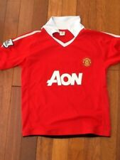 Manchester United Football Jersey Rooney #10 Boys Size 8 - 10