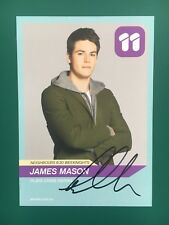 JAMES MASON *Chris Pappas* HAND SIGNED Channel 11 NEIGHBOURS Cast Fan Card