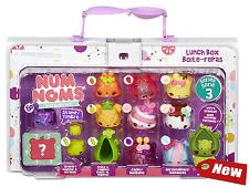 Num Noms Lunch Box 13 Pack Deluxe Set Series 3- Style 2 Original Storage Case