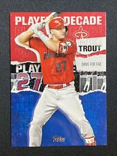 MIKE TROUT 2020 Topps Series 2 PLAYER OF THE DECADE BLACK PARALLEL MT-21 269/299