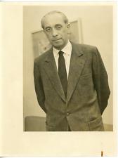 Proff. Wilhelm Groth  Vintage silver print Tirage argentique  12x17  Circa