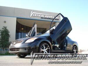Fit Nissan Altima 2DR 08-10 Lambo Style Vertical Doors VDI Bolt On Hinge Kit