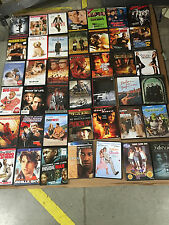 WHOLESALE LOT OF 500 Used DVD Movies - 65 Cents Each w/cases  FREE SHIPPING