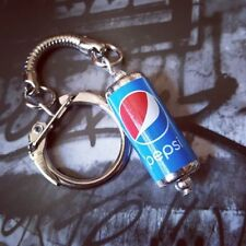 Unique PEPSI CAN KEYRING fab COCA COLA soda COKE keychain MIXED UP DOLLY cool!