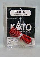 Kato HO/N 2484TC Unitrack Replacement Turnout Cable 1pc. New