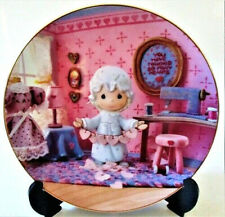 Precious Moments Plate You Have Touched So Many Hearts - 1994 - Mint Condition