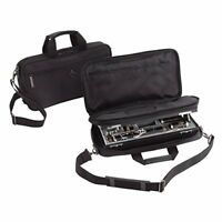 Buffet Crampon Case B b Clarinet Black Nylon Double Compartment with Strap