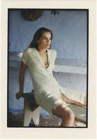 Photo Jean François Jonvelle Tirage Original Emmanuelle Seigner Vers 1990